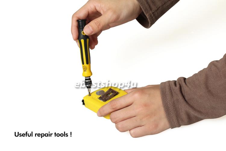 new 45 in 1 precision multi bit screwdriver tool kit interchangeable set ebay. Black Bedroom Furniture Sets. Home Design Ideas