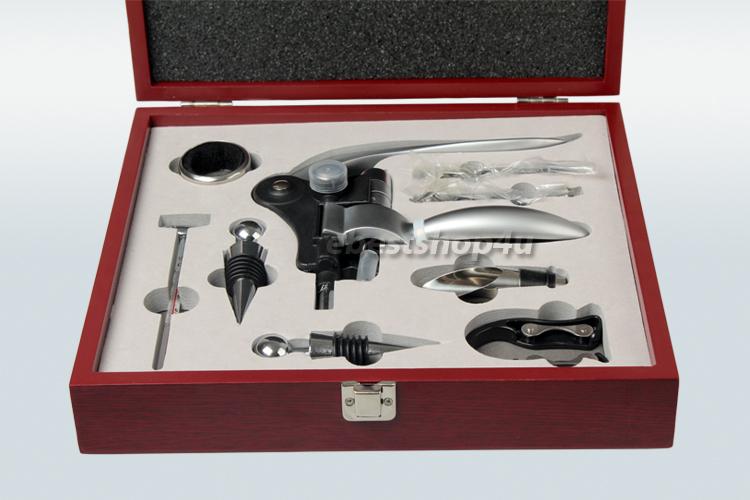 Wine Bottle Opener 9 Piece Accessores Gift Set Rabbit ...