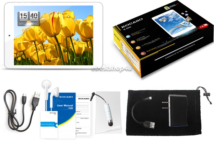 """Mini Quad Core 7.9"""" Android 4.2 IPS Screen 8GB Bluetooth Tablet PC"""