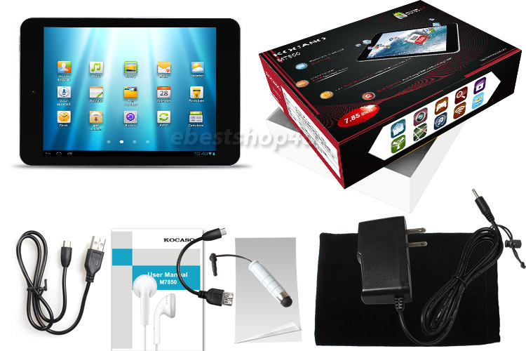 """Details about KOCASO Tablet Android 4.2 7.9"""" Wifi Dual Core 1.2 GHz"""