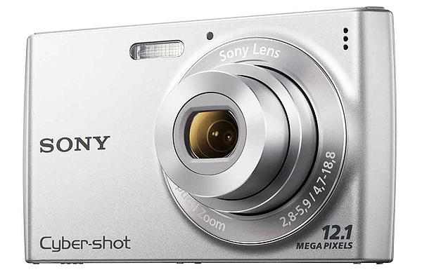 Sony-Cybershot-DSC-W510-12-1MP-Digital-Camera-2-7-LCD-Red-or-Silver-2SD-Bonus