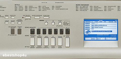 Yamaha ypg 535 88 key portable keyboard w stand pedal ebay for Yamaha ypg 535 weighted keys